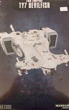 Warhammer 40K TAU EMPIRE TY7 DEVILFISH Skimmer Troop Transport Grav-Tank, New