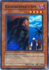 *** GRAVEKEEPER'S SPY *** CBLZ-EN048 SUPER RARE (PLAYED CONDITION) YUGIOH!