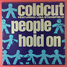 COLDCUT avec LISA STANSFIELD - People Hold On - ccut-5t ex-condition