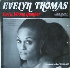 Evelyn Thomas - Sorry, Wrong Number 1985 Maxi
