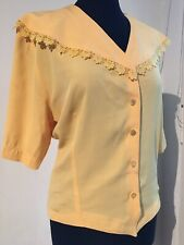 Schöne leichte Bluse True Vintage Gr M Made in France
