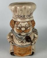 Vintage Chef Cookie Jar | Impeccable Condition | Hand Crafted | Rare Artistry