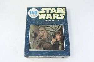 1977 Kenner Star Wars Han & Chewbacca 140 Piece Jigsaw Puzzle
