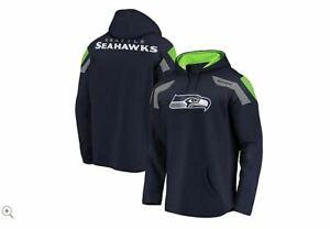 Seahawks NFL Redzone Fleece Pullover Drawstring Hoodie Fanatics  L A371040