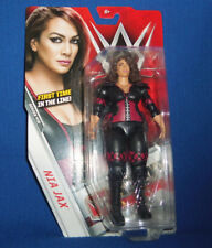 WWE mattel  NIA JAX Women's Division wrestling figure series 72 First Time