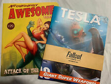 NEW Fallout #10 Scavenged Magazine Tesla Notebook Set 2 Loot Crate Exclusive