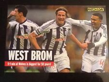West Bromwich Albion W Football Prints & Pictures