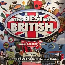 The Best Of British Logo Board Game - Drummond Park - COMPLETE