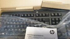 NEW IN BOX HP KU1156 USB WIRED KEYBOARD