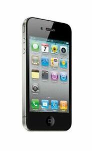 Apple IPHONE 4 32GB Noir débloqué Smartphone Bon État Händlerware