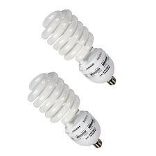 2x Tageslichtlampe Energiesparlampe Foto-Lampe 5500K / 105W Ersatz-Leuchtmittel