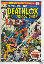 Astonishing Tales Deathlok the Demolisher comic #32 VF/NM Bronze Age 1970s