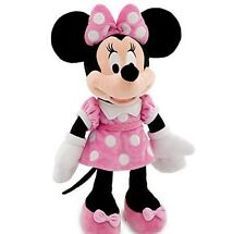 """NEW Disney World Store Minnie Mouse Club House 19"""" plush in pink dress CUTE NWT"""