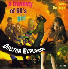 DOCTOR EXPLOSION-A TRAVESTY OF 80´S GIRL + LA PULGA SINGLE VINILO 1998 SPAIN