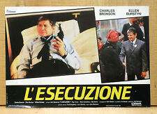 L'ESECUZIONE fotobusta poster affiche Charles Bronson Act of Vengeance 1986 CO11