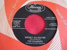 R&B POPCORN 45 - THE DIAMONDS - SNEAKY ALLIGATOR / HOLDING YOUR - MERCURY VG++
