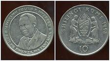TANZANIE  10 shilingi 1993