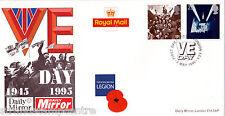 1995 ve día-Daily Mirror oficial-ve día EC4 H/S