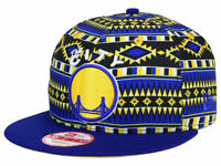 """Golden State Warriors New Era """"9FIFTY"""" Snapback Cap - One Size Fits All - NEW"""