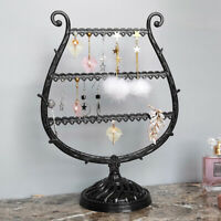 Jewelry Tree Stand Necklace Display Rack Earring Holder Ring Organizer Surprise