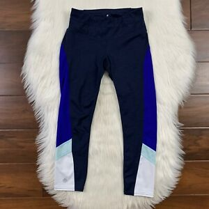 Athleta Women's Size XXS Navy Blue Colorblack Sonar Capri Crop Legging Pants