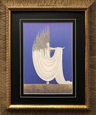 "Erte ""The Arctic"" Newly CUSTOM FRAMED Print Art Deco Design"