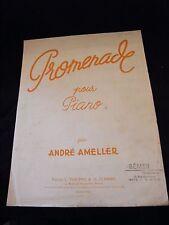 Partitura Paseo para Piano André Amellér Grande Formato