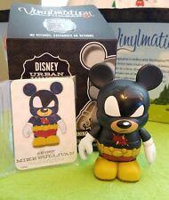 """Disney Vinylmation 3"""" Park Set 4 Urban Super Mega Mickey Mouse w/ Box & Card"""