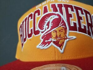 Mitchell and Ness Tampa Bay Buccaneers Creamsicle Snapback Hat, NWT, Authentic