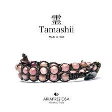 AUTENTICO TAMASHII BRACCIALE TIBET BAMBOO LEAF 2 Giri - Monaci Tibetani