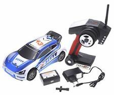 1:18 RC 2.4Gh 4WD Remote Control Rally Car (Blue)