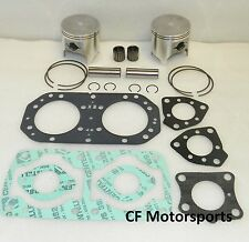 Kawasaki 750 +.25mm WSM Top End Rebuild Piston Kit SXI ZXi Pro STS SS Big Pin
