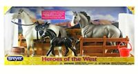 Breyer Classics Heroes of the West Toy Horse Set - Christmas GIFT