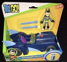 IMAGINEXT DC COMICS JUSTICE LEAGUE TEEN TITANS GO! ROBIN & BATMOBILE CAR