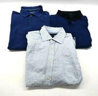 Banana Republic Men's Small Long & Short Sleeve Polo Shirts & Button Up Lot of 3