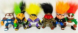 1992 Vintage Hasbro Battle Troll lot of  6 - Nice Condition