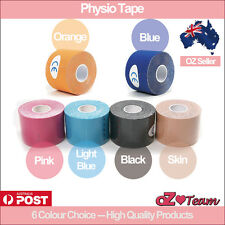 Kinesiology PHYSIO Tape High Quality ATHLETIC SPORTS ROCK MUSCLE 50mmx5m (1pack)