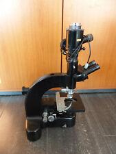 Leitz Wetzlar Mikroskope Microscope + UO 4/0.10 Lens