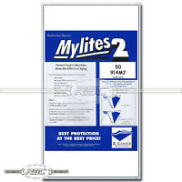50 - Mylites 2 Legal for Graded Comics (CGC, CBCS, PGX) 2-Mil Mylar Bags - 914M2