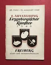 Ausstellungs Katalog Erzgebirgische Künstler im Bergbaumuseum Freiberg ( F19464