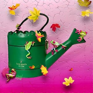 KATE SPADE SPRING FORWARD WATERING CAN CLUTCH