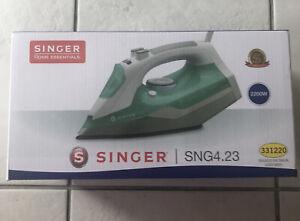 Singer SNG4.23 Steam Iron - 2200W - White