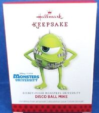 2013 Disco Ball Mike Disney Monsters Inc Hallmark Retired Ornament