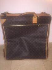LOUIS VUITTON Vintage Monogram Garment Carrier Weekend/ Travel Bag (4 Hangers)