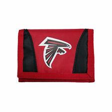 Football Team Licensed Atlanta Falcons Nylon Tri-fold Chamber Wallet