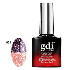 UK SELLER Gdi Nails Thermal PASSION MAJESTICA H33 Color Change UV/LED  Soak Off