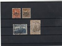 germany 1923 rhine overprint castle cathedral stamps ref 18531