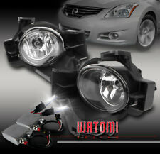 BUMPER DRIVING CHROME FOG LIGHT+50W 6K HID+SWITCH KIT FOR 10-12 ALTIMA SEDAN 4DR