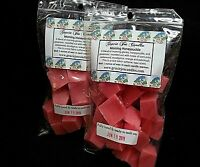MORNING HONEYSUCKLE Scented Soy Paraffin Tart Wax Melts Chunks Home Candle Scent