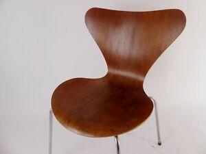 Mid Century Fritz Hansen - Arne Jacobsen 3107 Stuhl Chair Sedia Teak